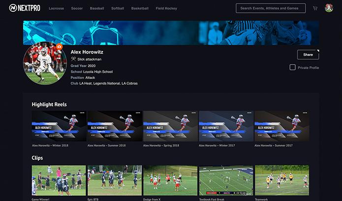 NextPro - Your Sports Media Platform